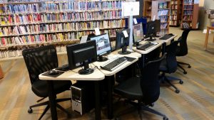 Found extra computer space for Chestermere Public Library.